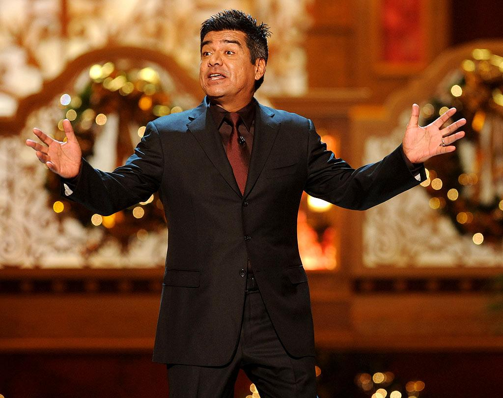 "George Lopez hosted the annual event, which featured performances by everyone from Mary J. Blige to Neil Diamond! Theo Wargo/<a href=""http://www.wireimage.com"" target=""new"">WireImage.com</a> - December 13, 2009"