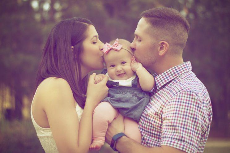 Only 4% of couples opt to give their baby the mother's surname [Photo: joel carter via Pexels]