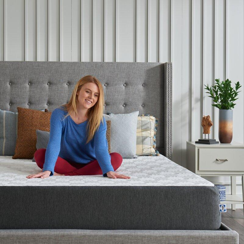 "Sealy 10"" Medium Gel Memory Foam Mattress in a Box (Photo: Wayfair)"