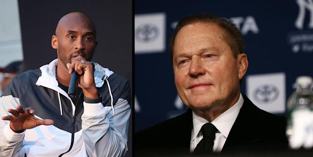 Before his death, Kobe Bryant wanted to get in contact with Scott Boras to recommend a friend's daughter for an internship. (Getty Images)