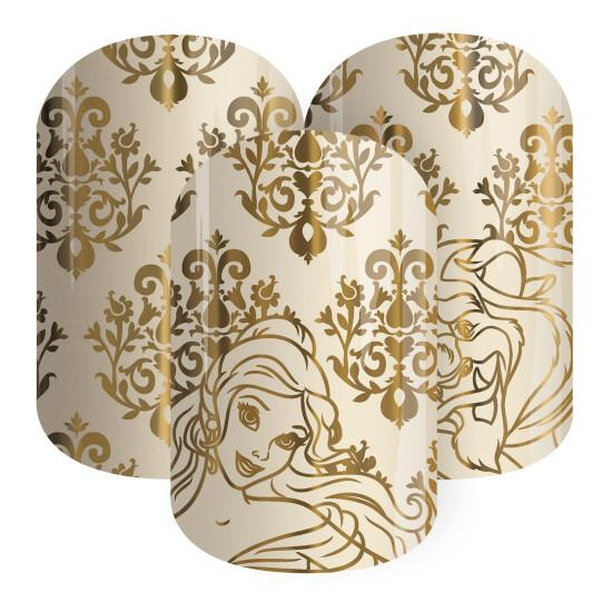 """You'll have fairytales on your fingertips with these """"Beauty and the Beast"""" nail wraps"""