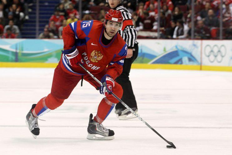 Danis Zaripov suspended by the IIHF