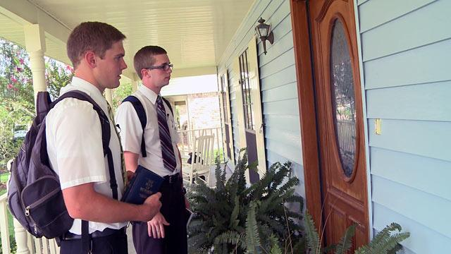 Young Mormons on a Mission: Rare Look at Church's Next Generation