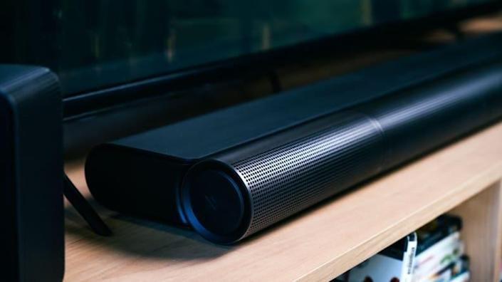 Vizio's Elevate soundbar, with its unique rotating speakers, is our current pick for the best Dolby Atmos bar.