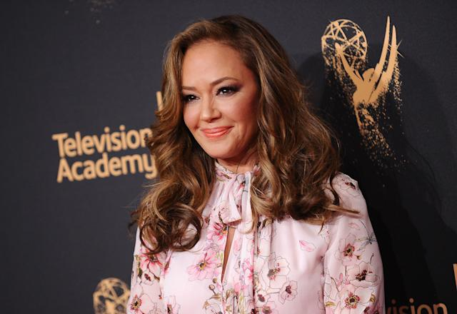 Actress Leah Remini was once a member of the Church of Scientology. Now she is devoted to exposing alleged abuses within the church. (Jason LaVeris via Getty Images)