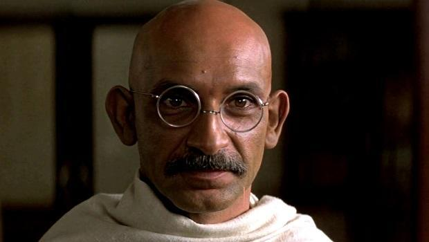 <p> Sir Ben Kingsley gives a remarkable breakthrough performance as Mohandas K. Gandhi in a biopic film, directed by the late Richard Attenborough. The movie tells the story of the lawyers peaceful approach to the Indian independence movement in the British-ruled colony. Kingsley scooped the Best Actor Oscar and the film also received a further three nominations. Kingsley's portrayal of the peaceful protester was so spot on, he reportedly spooked the locals during filming who likened him to a ghost of Ghandi. </p>