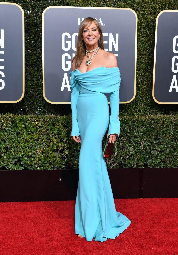 <p>Allison Janney attends the 76th Annual Golden Globe Awards at the Beverly Hilton Hotel in Beverly Hills, Calif., on Jan. 6, 2019. (Photo: Getty Images) </p>