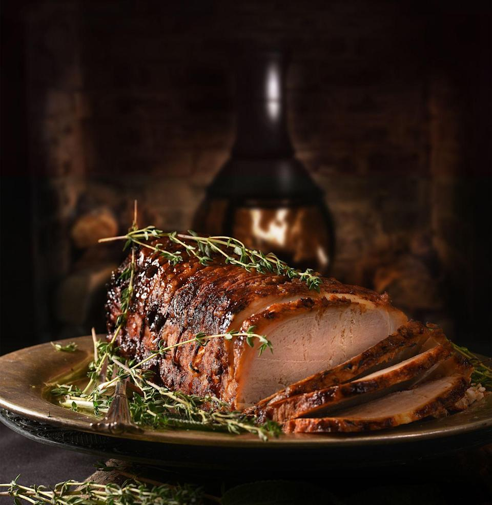 """<p><a href=""""https://www.delish.com/uk/cooking/recipes/g29708845/christmas-turkey-recipe/"""" rel=""""nofollow noopener"""" target=""""_blank"""" data-ylk=""""slk:Christmas"""" class=""""link rapid-noclick-resp"""">Christmas</a> will look different this year, so using simple yet show-stopping recipes are a good way to go as they can be served in a variety of ways during any occasion. I recently came up with a recipe for <a href=""""https://www.peroniuslocator.com/recipe"""" rel=""""nofollow noopener"""" target=""""_blank"""" data-ylk=""""slk:Birra-Braised Pork Shoulder"""" class=""""link rapid-noclick-resp"""">Birra-Braised Pork Shoulder</a>, which can be enjoyed as part of a canapé or served family-style as your protein. And my newly-developed Lemon Artichoke Dip can be used as a spread for sandwiches when a family member turns up unexpectedly, and you need something to serve them.</p>"""