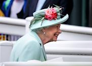 """<p>Queen Elizabeth is back at the races! The British monarch returned to her beloved <a href=""""https://www.townandcountrymag.com/society/tradition/g10043681/royal-ascot-photos/"""" rel=""""nofollow noopener"""" target=""""_blank"""" data-ylk=""""slk:Royal Ascot horse race"""" class=""""link rapid-noclick-resp"""">Royal Ascot horse race</a> after the pandemic forced her to miss last year's event. Ascot is said to be the Queen's favorite event of the year, given her <a href=""""https://www.townandcountrymag.com/society/tradition/g3319/queen-elizabeth-horse-photos/"""" rel=""""nofollow noopener"""" target=""""_blank"""" data-ylk=""""slk:lifelong love of horses"""" class=""""link rapid-noclick-resp"""">lifelong love of horses</a>. While this year's race looks a bit different—attendees are masked and had to receive COVID tests—<a href=""""https://www.townandcountrymag.com/society/tradition/g36729576/royal-family-ascot-2021-photos/"""" rel=""""nofollow noopener"""" target=""""_blank"""" data-ylk=""""slk:the royals arrived in full force"""" class=""""link rapid-noclick-resp"""">the royals arrived in full force</a>. Unlike most years, the Queen did not attend the Ascot's opening day, as she had an in-person meeting with Australian Prime Minister Scott Morrison. However, she certainly was not going to miss the event in its entirety, arriving on the final day of the event to watch the races. </p><p>This week holds special meaning to Queen Elizabeth, who has been patron of <a href=""""https://www.townandcountrymag.com/society/tradition/a21730403/royal-ascot-what-to-know/"""" rel=""""nofollow noopener"""" target=""""_blank"""" data-ylk=""""slk:Royal Ascot"""" class=""""link rapid-noclick-resp"""">Royal Ascot</a> since coming to the throne in 1952. In 2013, the Queen became the first ever reigning monarch to win the Royal Ascot Gold Cup with her horse, Estimate. As Camilla, Duchess of Cornwall, <a href=""""https://www.townandcountrymag.com/society/tradition/a36729442/camilla-quote-queen-elizabeth-love-horse-racing/"""" rel=""""nofollow noopener"""" target=""""_blank"""" data-ylk=""""slk:recently told ITV's Racing p"""