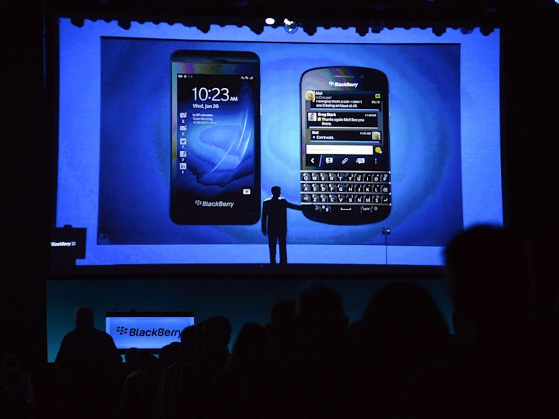 BlackBerry to focus on software _ not devices