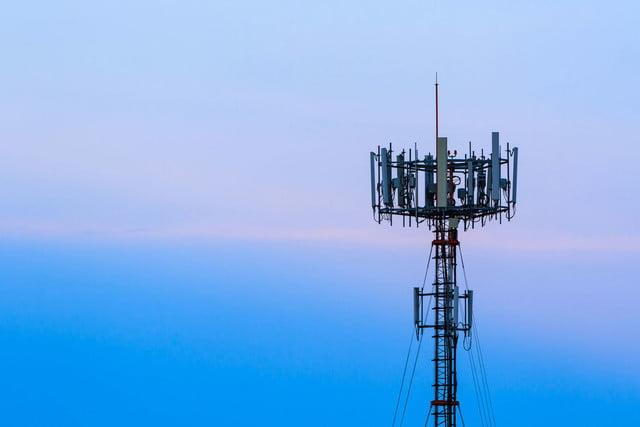 Cell tower FM radio