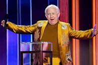 <p>Leslie Jordan takes the stage at the 56th Academy of Country Music Awards at the Grand Ole Opry on Sunday in Nashville.</p>