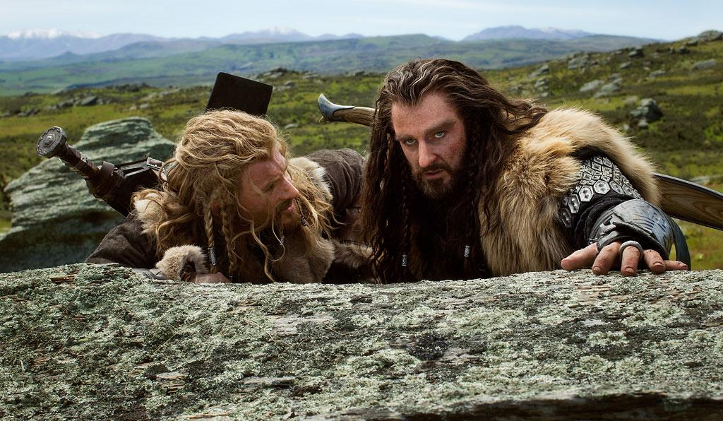 """Dean O'Gorman and Richard Armitage in New Line Cinema's """"The Hobbit: An Unexpected Journey"""" - 2012"""