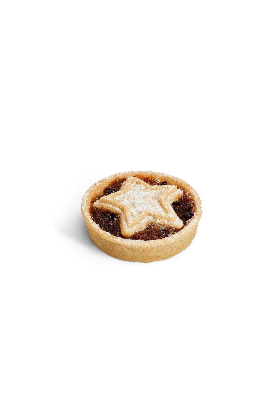 "<p><strong>Overall score: 73/100</strong></p><p>This year's best gluten-free mince pie boasts a decorative star design, dusted with icing sugar. Featuring a soft, melt-in-the-mouth pastry, the mince pie's succulent currants are paired with a hint of spice for a traditional finish, while a zingy, mixed peel flavour comes through in the filling. The gentle, fruity aroma has a hint of citrus from the lemon and orange peel. </p><p><strong><a class=""link rapid-noclick-resp"" href=""https://www.costa.co.uk/menu/"" rel=""nofollow noopener"" target=""_blank"" data-ylk=""slk:AVAILABLE IN STORE ONLY"">AVAILABLE IN STORE ONLY</a> Costa, £2 for 80g</strong> <strong>(serves 1)</strong></p>"