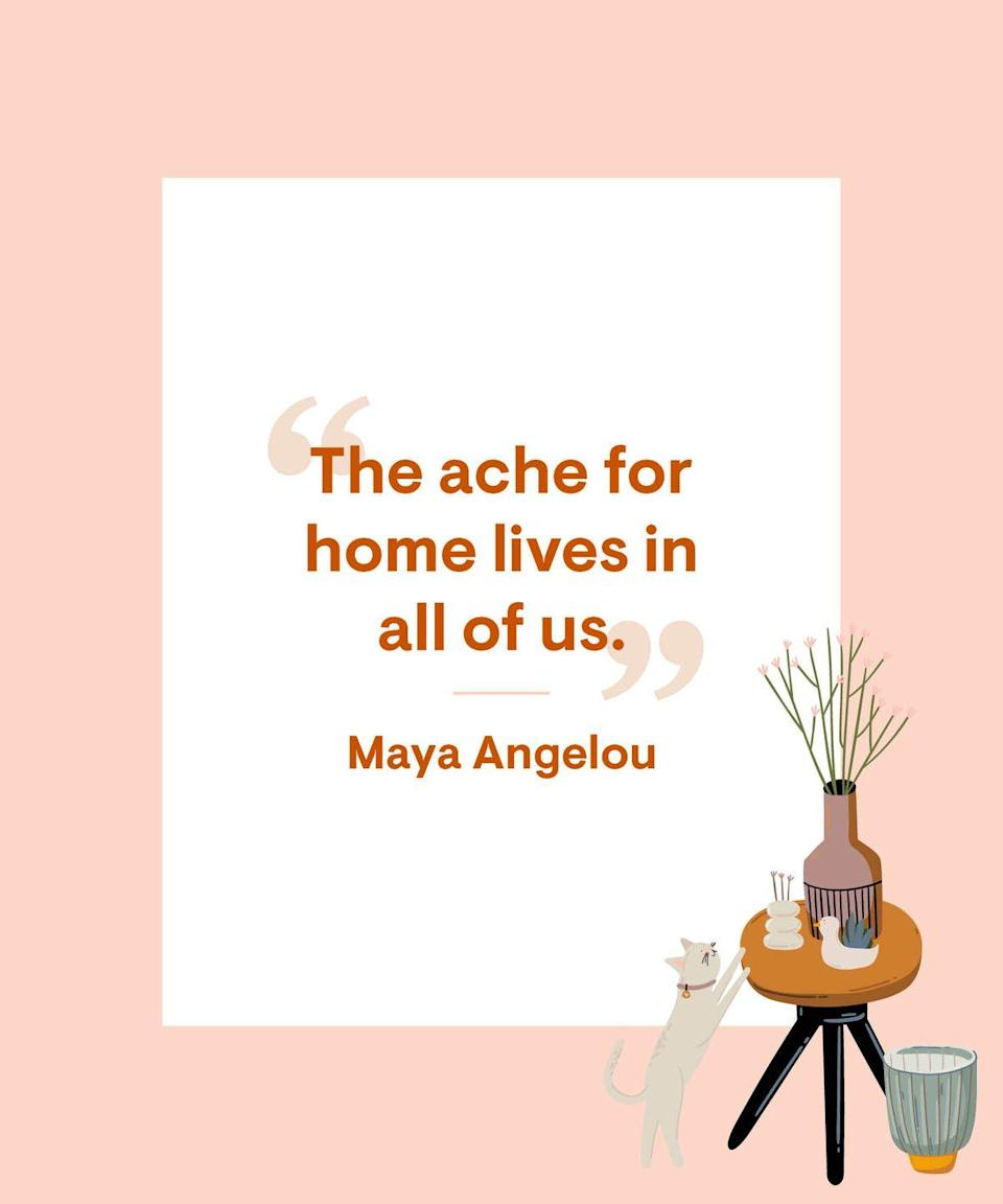 <p>The ache for home lives in all of us.</p>