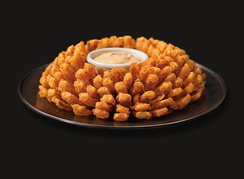 blooming onion appetizer from outback