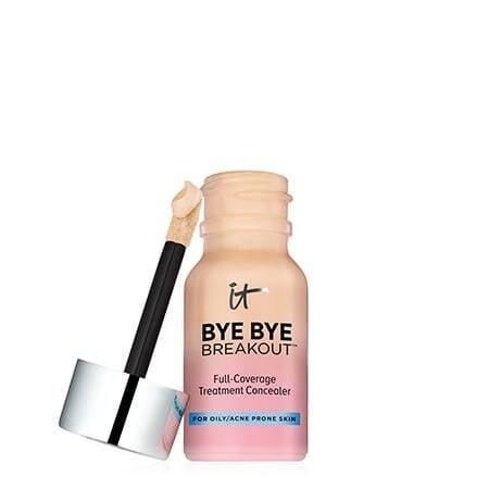 """<p>""""This <a href=""""https://www.popsugar.com/buy/Cosmetics-Bye-Bye-Breakout-Full-Coverage-Concealer-585113?p_name=IT%20Cosmetics%20Bye%20Bye%20Breakout%20Full-Coverage%20Concealer&retailer=itcosmetics.com&pid=585113&price=19&evar1=bella%3Aus&evar9=43881299&evar98=https%3A%2F%2Fwww.popsugar.com%2Fbeauty%2Fphoto-gallery%2F43881299%2Fimage%2F47576642%2FIT-Cosmetics-Bye-Bye-Breakout-Full-Coverage-Concealer&list1=makeup%2Cbeauty%20products%2Cacne%2Cbeauty%20shopping%2Cbeauty%20tips%2Cbeauty%20interview%2Cbeauty%20news%2Cskin%20care&prop13=mobile&pdata=1"""" class=""""link rapid-noclick-resp"""" rel=""""nofollow noopener"""" target=""""_blank"""" data-ylk=""""slk:IT Cosmetics Bye Bye Breakout Full-Coverage Concealer"""">IT Cosmetics Bye Bye Breakout Full-Coverage Concealer</a> ($19) is full of incredible ingredients - from antiaging peptides and collagen to an AHA/BHA complex and an encyclopedia of soothing and minimizing ingredients. It also comes in seven global skin tones."""" - <a href=""""http://maryirwin.com/"""" class=""""link rapid-noclick-resp"""" rel=""""nofollow noopener"""" target=""""_blank"""" data-ylk=""""slk:Mary Irwin, makeup artist"""">Mary Irwin, makeup artist</a></p>"""