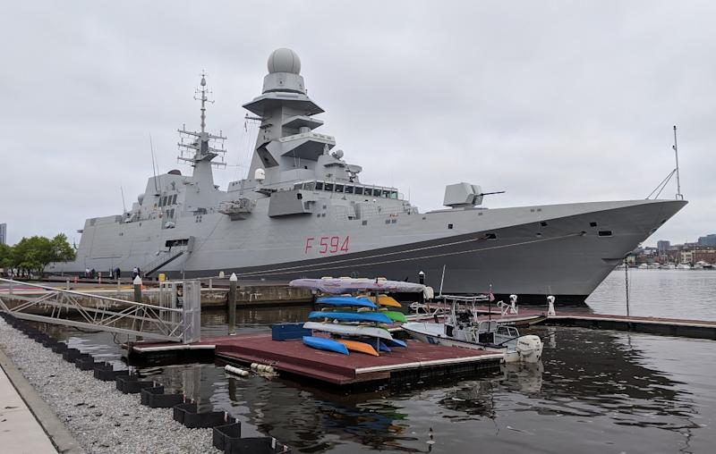 Italy in talks to sell frigates to Egypt