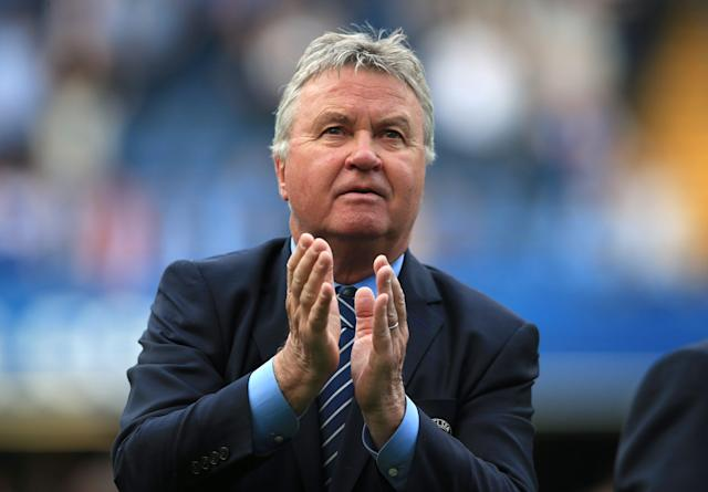 <span>Guus Hiddink says he was offered the Leicester job but turned it down</span>