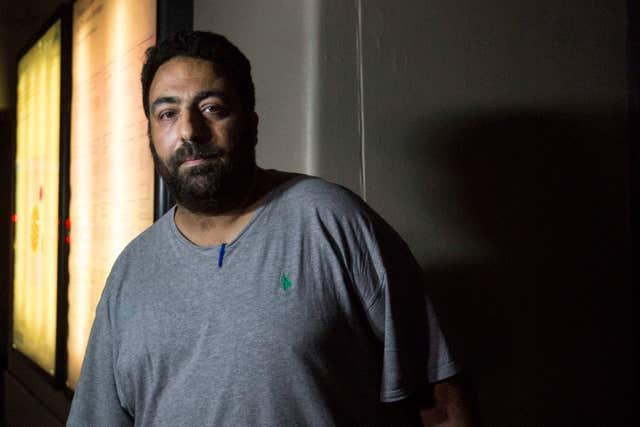 Nabil Choucair, who lost six family members in the Grenfell Tower fire (Rick Findler/PA)