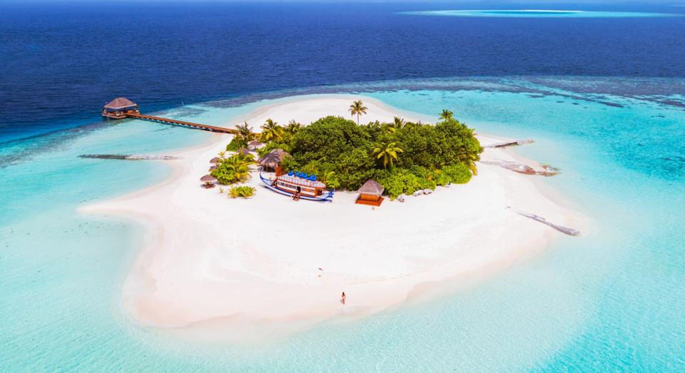 The Maldives continues to be a popular bucket-list destination for travellers in 2021 (Getty)