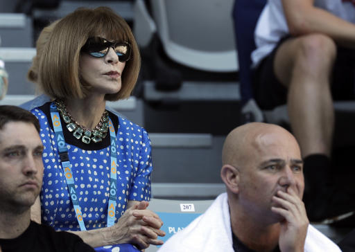 Dame Anna Wintour Calls For Renaming Of Margaret Court Arena