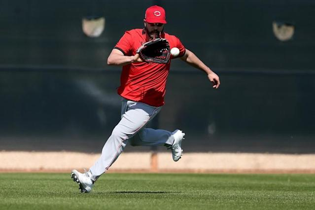 MLB: Cincinnati Reds-Workouts