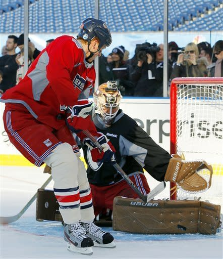 Rangers-Flyers Preview