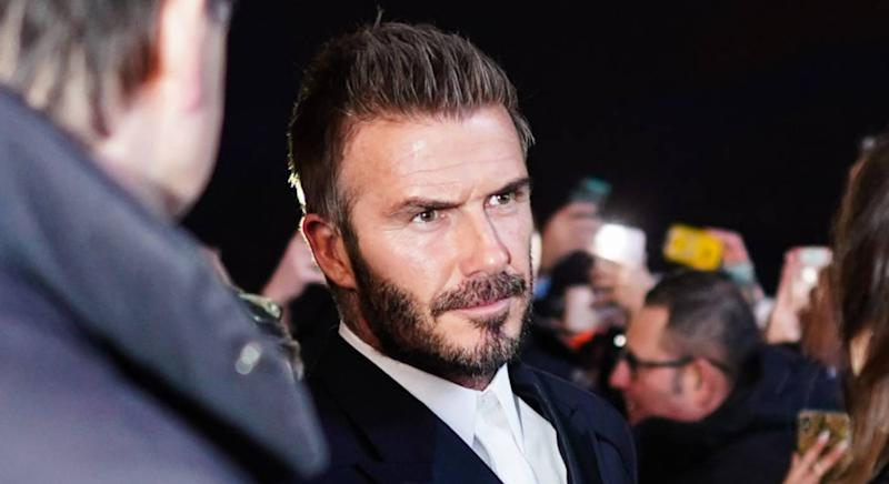 David Beckham showcases dapper rural style. (Getty Images)