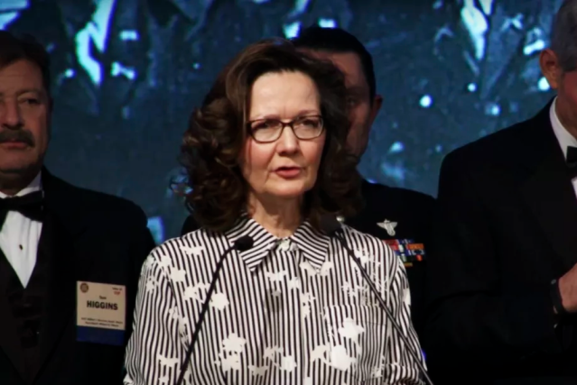 Gina Haspel is the first female CIA director. (Screenshot: Youtube)