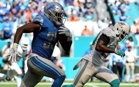 <span>The Lions have finally found a running back in Kerryon Johnson</span> <span>Credit: (Jason Vinlove/USA Today) </span>