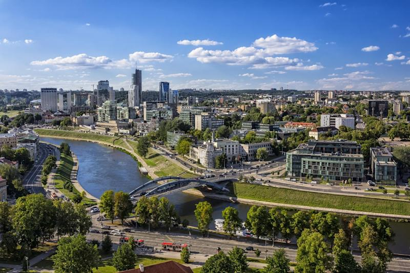 Lithuania's capital boasts the Unesco World Heritage-listed Vilnius Old Town, beautiful botanical gardens, craft brewery tours, street food markets and open-air concerts: istock