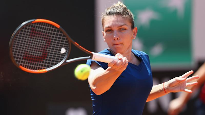 Slick Svitolina upsets injury hit Halep to win Rome