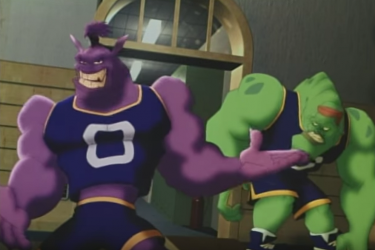 The Cavs Took The Court To The Monstars Theme Song Then Lost