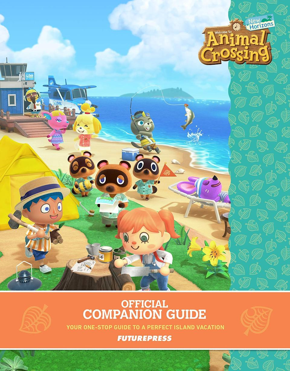 <p>And don't forget the matching <span>Animal Crossing: New Horizons Official Companion Guide</span> ($27).</p>