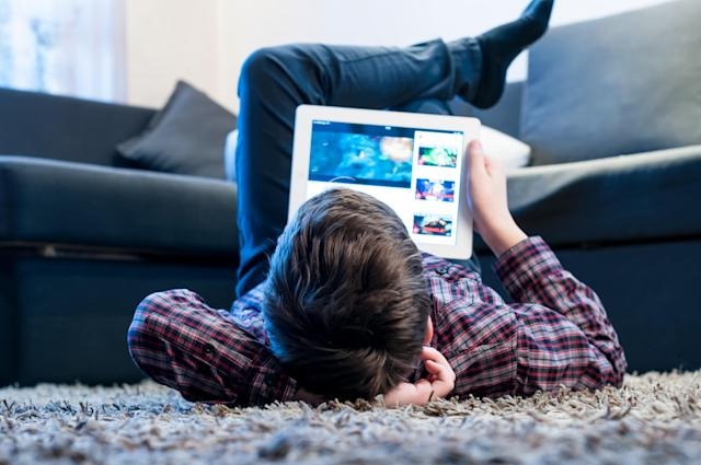 Screen time should be limited to two hours, say researchers [Photo: Getty]