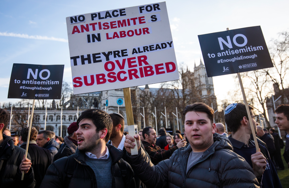 <em>Labour has been rocked by anti-Semitism scandals over the past few months (Getty)</em>