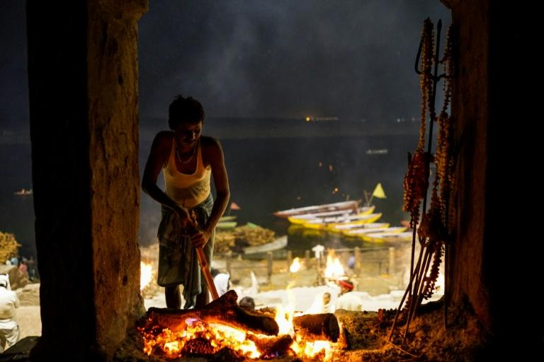 Hindus believe the sacred fires and cremation grounds at Varanasi can help free them from the cycle of life and death