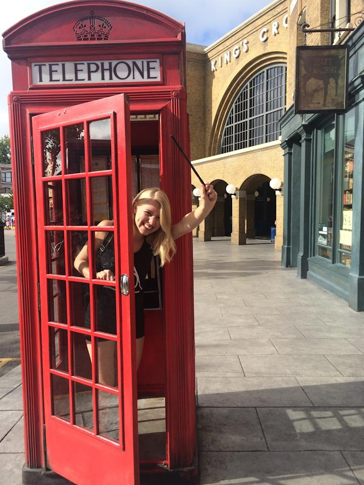<p>If you dial 62442 (MAGIC) in the phone booth in Muggle London, you can get the Ministry itself on the line. </p>