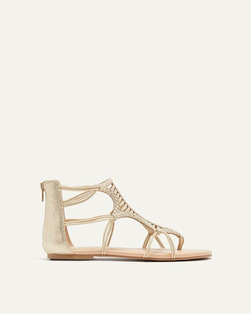 ba794769f Meghan Markle wrap sandals Sarah Flint
