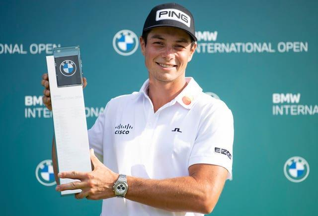 Viktor Hovland became the first Norwegian to win on the European Tour with victory at the BMW International Open