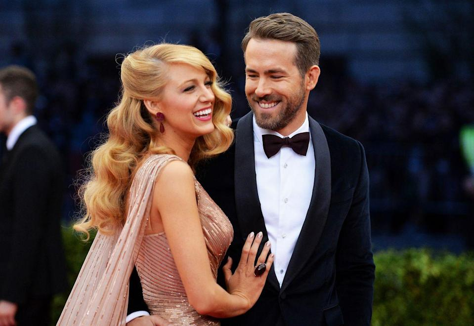 """<p>Blake Lively and Ryan Reynolds have kept up their loving antics while in quarantine. When Ryan told Stephen Colbert that Blake was going to cut his hair, he trashed the last pre-COVID haircut she gave, saying it took two hours and was less than professional. Well, Blake got him back with <a href=""""https://www.elle.com/culture/celebrities/a32281339/blake-lively-trolled-ryan-reynolds-quarantine-hair/"""" rel=""""nofollow noopener"""" target=""""_blank"""" data-ylk=""""slk:a less-than-sensible 'do"""" class=""""link rapid-noclick-resp"""">a less-than-sensible 'do</a>.</p>"""