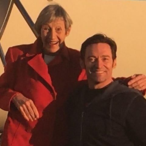 "<p>How cute is Hugh Jackman's mom, Grace? ""Happy Mother's Day to my Mum … and yours too!"" wrote the Aussie hunk. (Photo: <a href=""https://www.instagram.com/p/BUEljC8j0P6/"" rel=""nofollow noopener"" target=""_blank"" data-ylk=""slk:Hugh Jackman via Instagram"" class=""link rapid-noclick-resp"">Hugh Jackman via Instagram</a>) </p>"