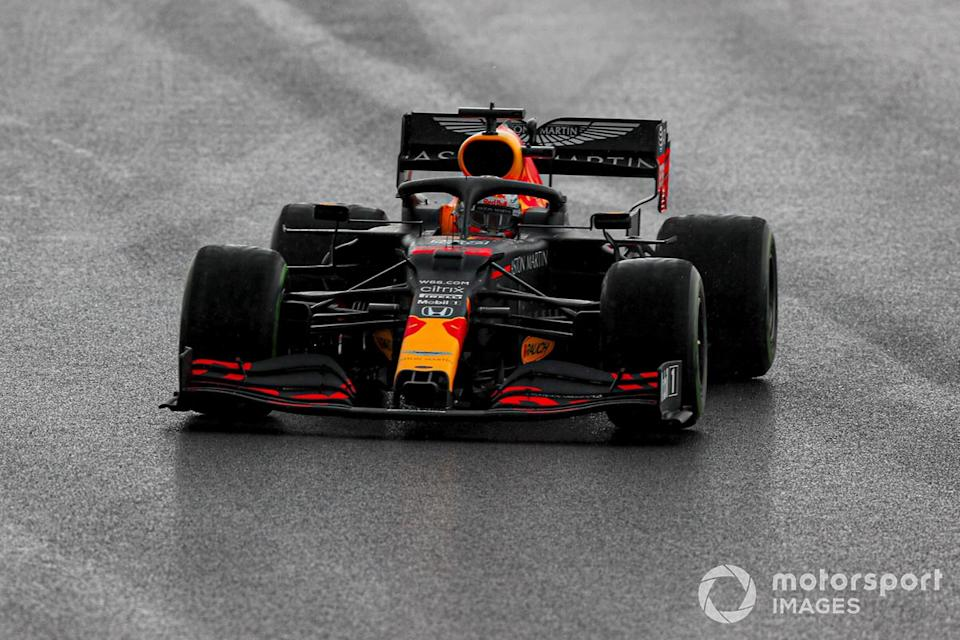 "P2 Max Verstappen, Red Bull Racing RB16<span class=""copyright"">Charles Coates / Motorsport Images</span>"