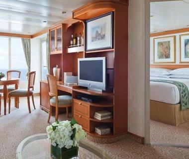 """<p><strong>Fleet:</strong> With three all-suite, all-balcony, 700-to-750-passenger ships and one 490-passenger ship, Regent is the most all-inclusive of all the cruise lines. Cruising destinations include Alaska, Europe, the Caribbean, Asia/Pacific, and South America.</p> <p><strong>What's Included:</strong> Practically everything. Round-trip air (business class for top suites), specialty dining, unlimited beverages including premium wines and spirits, in-suite mini-bar, shore excursions in every port, gratuities, pre-cruise luxury hotel package, transfers to the ship.</p> <p><strong>Sample Cruise:</strong> 7-night <a href=""""https://www.travelandleisure.com/cruises/best-mediterranean-cruises"""" rel=""""nofollow noopener"""" target=""""_blank"""" data-ylk=""""slk:Mediterranean Cruise"""" class=""""link rapid-noclick-resp"""">Mediterranean Cruise</a> Rome to Monte Carlo on the <em>Seven Seas Mariner</em>. From $8,399 per person.</p> <p><a href=""""http://www.rssc.com"""" rel=""""nofollow noopener"""" target=""""_blank"""" data-ylk=""""slk:rssc.com"""" class=""""link rapid-noclick-resp"""">rssc.com</a></p>"""