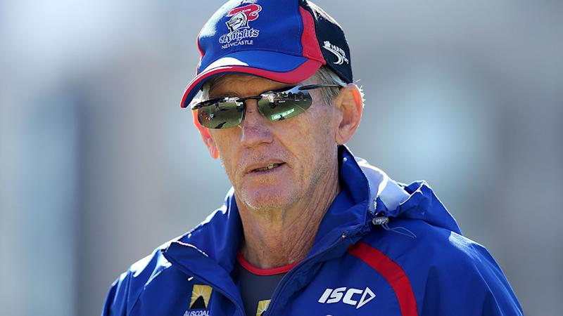 Wayne Bennett, pictured here at Newcastle in 2014.