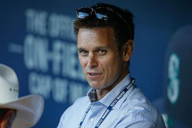 Seattle Mariners general manager Jerry Dipoto was accused of racially discriminating remarks by a former employee, claims the Major League Baseball club has denied (AFP Photo/OTTO GREULE JR)