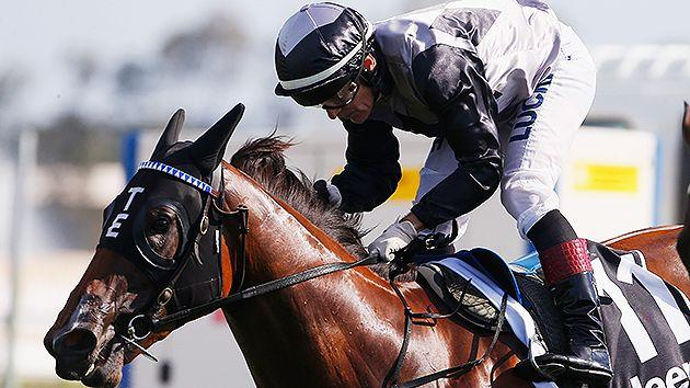 Houtzen is being strongly backed to take out the Golden Slipper. Pic: Getty
