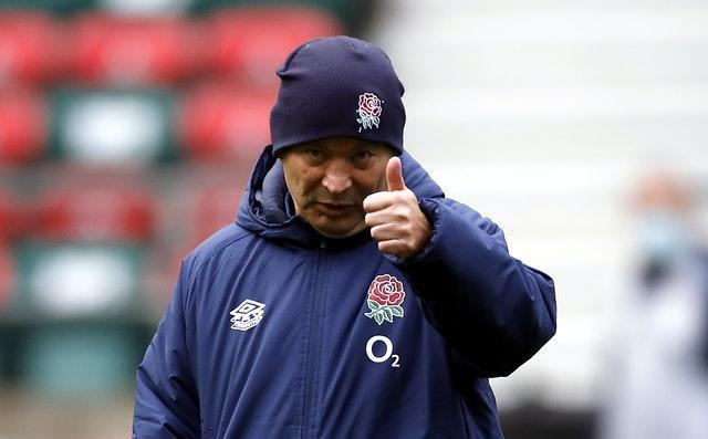 Eddie Jones is happy with England's tactics