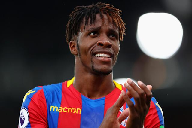 Roy Hodgson: It's unfair to pin Crystal Palace survival hopes on Wilfried Zaha.